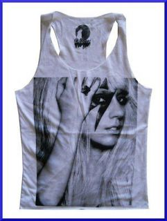 Top Lady Gaga Retro Dance ROCK Pop Legend Music Free Sz Thin Cotton