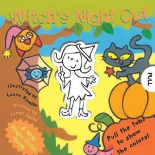 Witchs Night Out by Janet Sacks 2005, Hardcover