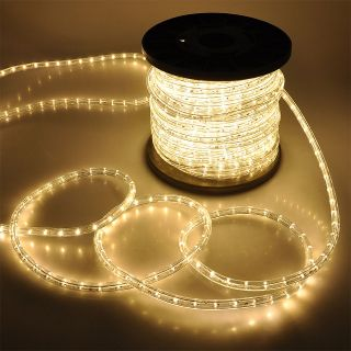 150 2 Wire 110V Home LED Rope Light RGB Yellow Red Green Blue Cool