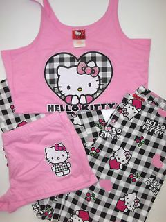 hello kitty pjs in Womens Clothing