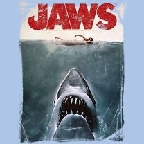 Jaws Movie Shark Poster Officially Licensed Tee Shirt Sizes S 3XL