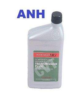 genuine honda cvt 1 continuous variable transmission fluid fits honda