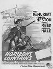The far horizons Charlton Heston movie poster print