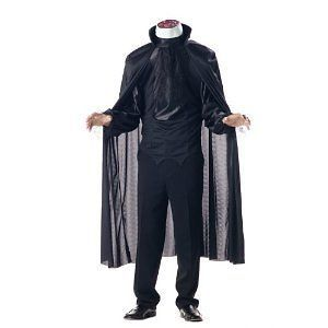 Adult Headless Horseman Costume Size Large 42 44