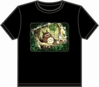 ANIME T SHIRT MY NEIGHBOR TOTORO ~I MISS YOU~ BLK M