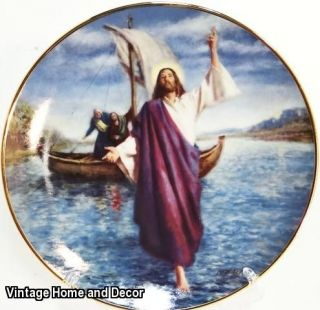 The Glory of Christ Collection JESUS WALKS ON WATER Clemente Micarelli