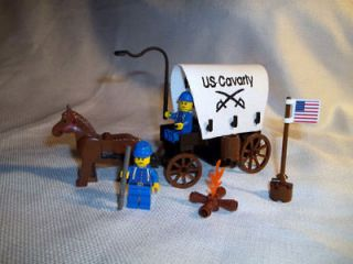 LEGO CIVIL WAR CUSTOM UNION SOLDIER CAVALRY WAGON