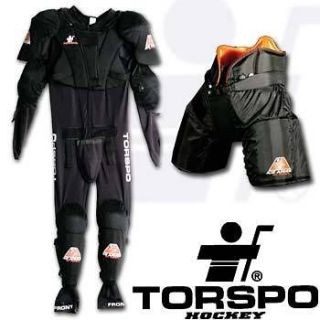 Hockey NEW Torspo Ice Armour Suit, Junior L, All in one piece: pants