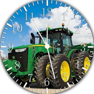 New John Deere Farm tractors wall Clock 10 Room Decor Z29 Fast