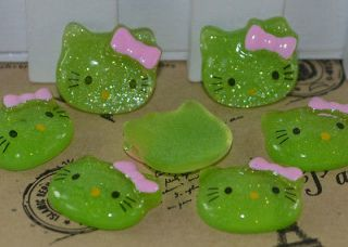 hello kitty cabochons in Buttons & Flatbacks