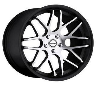 20 inch strada moda black wheels rims 5x112 audi a3 a4 a5 a6 a8 s4 s5