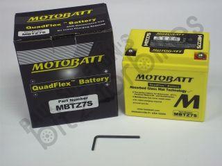 QuadFlex MBTZ7S Battery for a Yamaha YFM 90 Raptor (2009 2010
