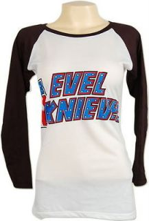 evel knievel daredevil motorcycle skinny ls t shirt s