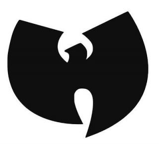 Wu Tang Symbol Vinyl Decal Sticker for Wall or Car