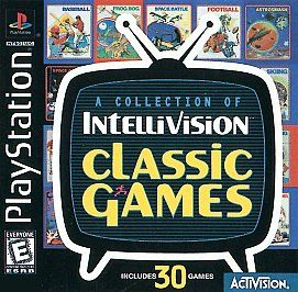 Collection of Intellivision Classic Games Sony PlayStation 1, 1999