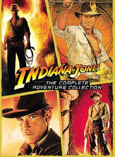 Indiana Jones   The Complete Adventure Collection DVD, 2008, 4 Disc