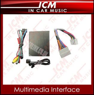 Honda Accord Odyssey Multimedia Video Interface for iPod Video And DVD