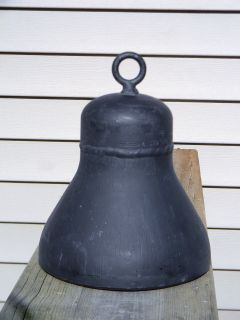 Large Antique/Vint​age Weldbend Cast Iron Bell