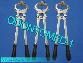 Pieces 18 Castrator Burdizzo Castration Veterinary Instruments