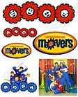 Imagination Movers Shirt Iron on Transfers #1