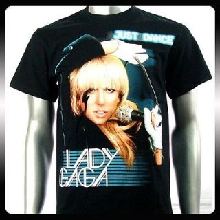 lady gaga pop star sexy music dancer men t shirt sz l ga4