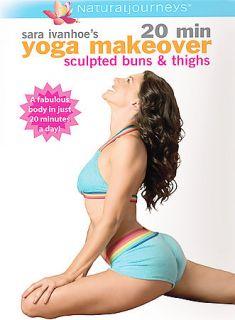 20 minute yoga makeover-power beauty sweat oleh sara ivanhoe