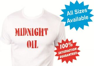 midnight oil shirt in Clothing,