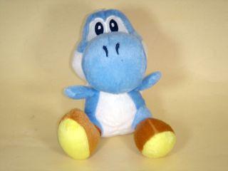 Newly listed BLUE YOSHI 7 (18CM) SUPER MARIO BROS PLUSH TOY DOLL