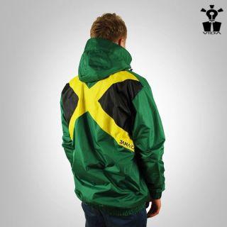JACKET Rasta Reggae Jamaica FLAG VIDA shirt Marley clothes windbreaker