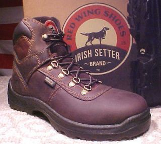 IRISH SEER BY RED WING MEN SIZE 12 EE (WW WAERPROOF SEEL OE WORK