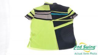 NEW Jamie Sadock Womens 1/4 Zip Short Sleeve Golf Polo Shirt Small