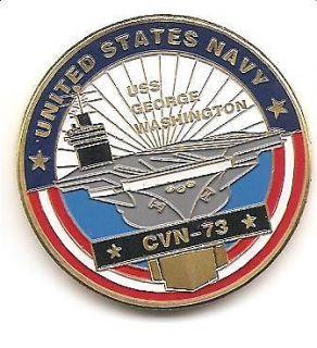 United States of America Department of Navy USS George Washington