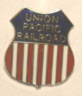 Union Pacific Railroad Hat Pin RR Train Railway