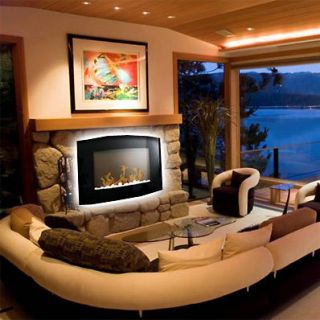 wall mount electric fireplace in Fireplaces