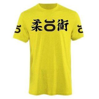 JACO JIU JITSU MMA CREW SHIRT YELLOW SIZES S, M, L, XL, 2XL