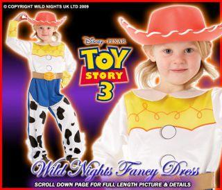 FANCY DRESS ~ GIRLS DISNEY TOY STORY 3 JESSIE L AGE 7 8