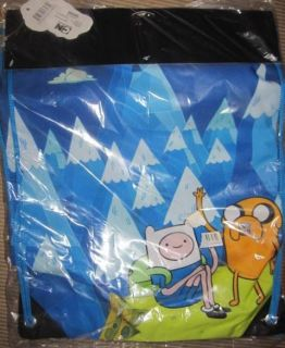 New Adventure Time Finn & Jake Christmas Stocking Idea Cinch Bag