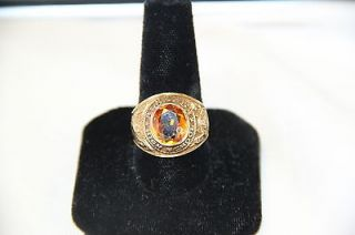 11.1 Grams HJ 10K Gold 1967 Alameda High School Class Ring Chipped