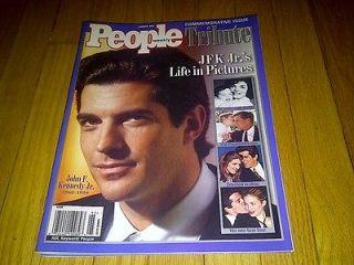 1999 PEOPLE WEEKLY TRIBUTE JFK JOHN F. KENNEDY JR. COMMEMORATIVE ISSUE
