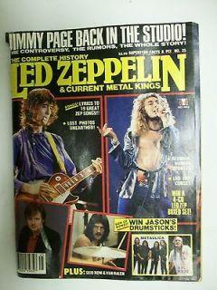 Zeppelin magazine 1991 Jimmy Page Robert Plant John Bonham Paul Jones