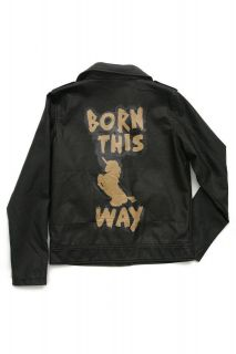 lady gaga born this way limited edition replica moto jacket