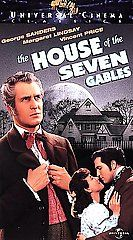 The House of the Seven Gables VHS, 1998