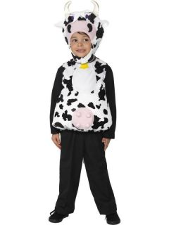 Kids Moo Cow Tabard Farm Animal Smiffys Fancy Dress Costume  T1