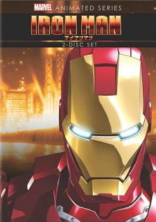 Iron Man The Complete Animated Series DVD, 2012, 2 Disc Set