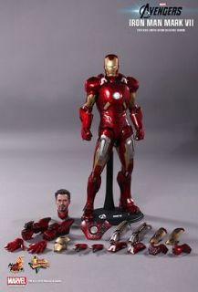 Toys MMS185 THE AVENGERS IRONMAN MARK VII 1/6th LIMITED EDITION Figure