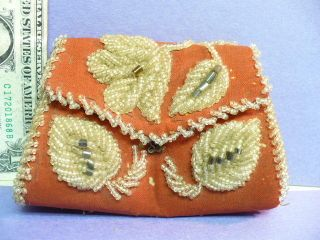 19th Century – Early 1900's Native American Beaded Whimsy Purse