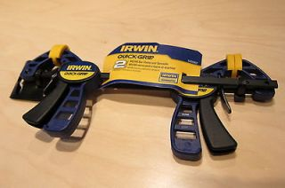 IRWIN Quick Grip Micro bar clamp and spreader, 530062. Pair of