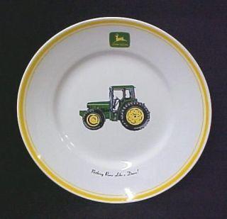 John Deere Tractor Collector Bowl Gibson Rare Misprint