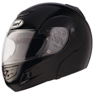 Fuel M 1 Modular Flip Up Motorcycle Helmet Black Adult S, M, L, XL