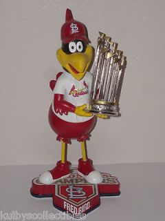 FREDBIRD Mascot St Louis Cardinals Bobble Head 2011 World Series